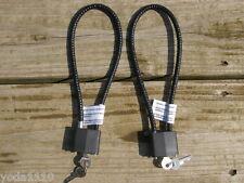 2 Ruger pistol rifle shotgun child safety gun cable Locks W/ key CALIFORNIA OK