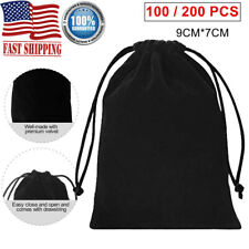 Small Gift Bag Velvet Cloth Drawstring Bag Jewelry Wedding Pouch Ring Favor