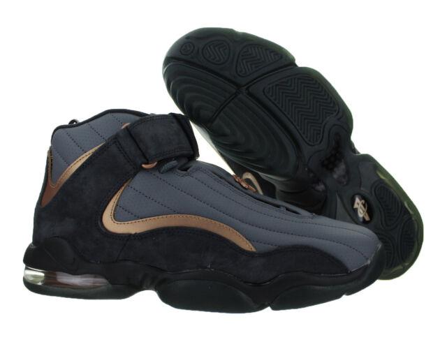 New Nike Air Max Penny 4 Men s Shoes Wolf Grey Metallic Copper 864018 002 df8de57333a7
