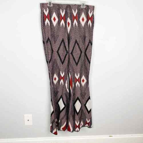 Free People Aztec Knit Bell Bottom Pants