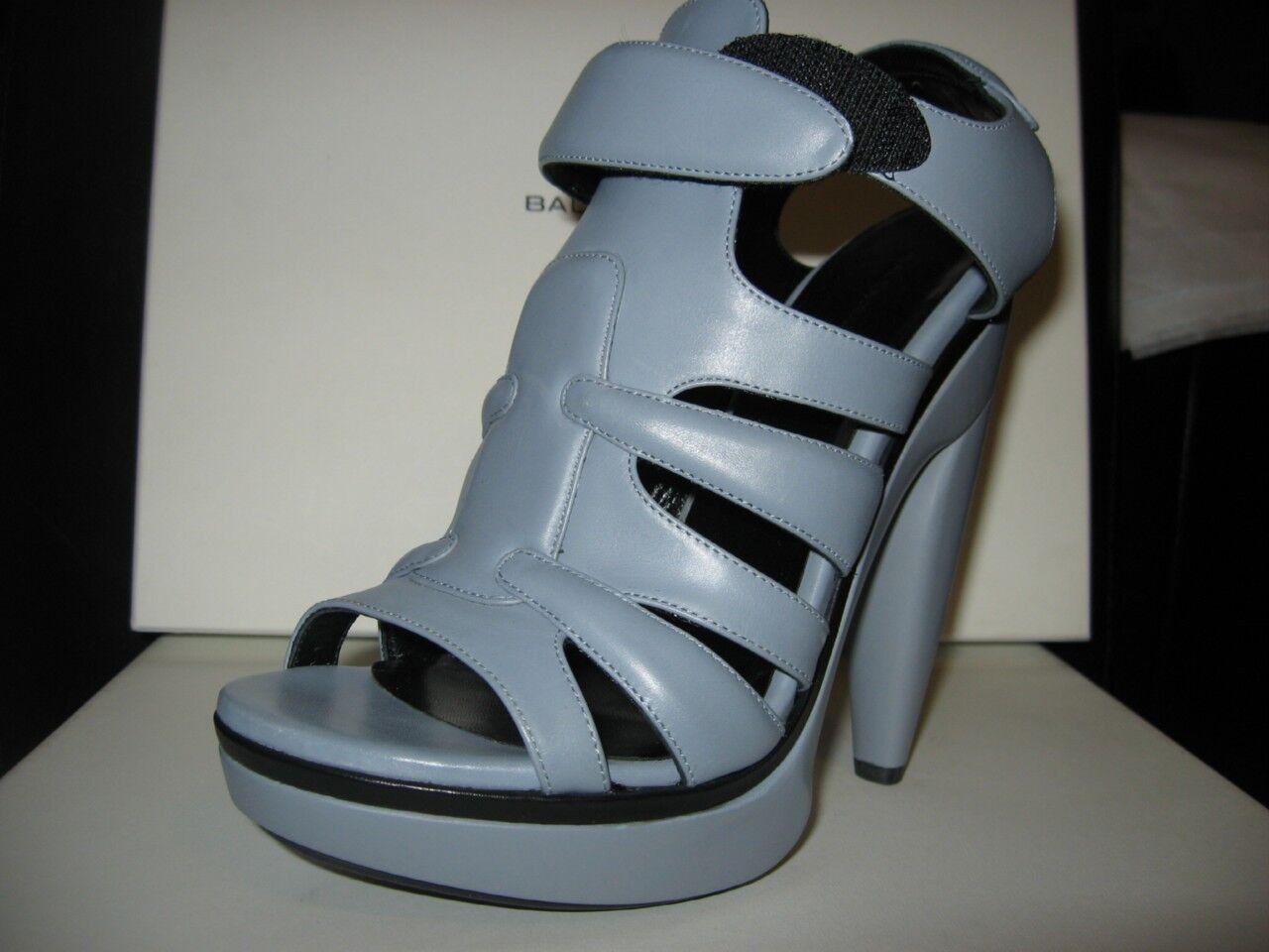 BALENCIAGA Platfrom Gladiator Clog Sandal shoes 37 7