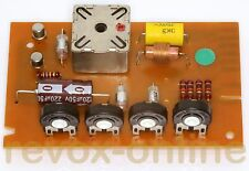 1 Oszillator-Platine, Oscillator 1.077.712, Revox A77 2-Spur, revidiert, dunkel