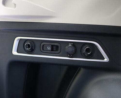 ABS Matte Interior Rear Trunk Button Cover Trim 2pcs For Subaru Forester 2019