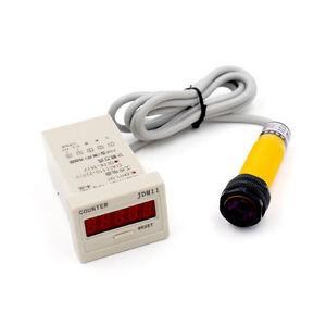 dc 3 wire 6 36v pnp ir photoelectric sensor switch 30cm e18 b03p1 rh ebay com