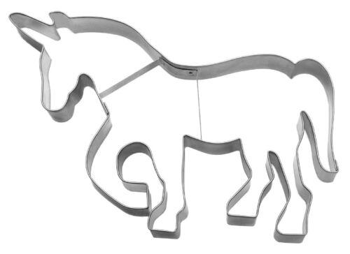 "Ausstecher//Ausstechform /""Märchen Pferd EINHORN/"" 20 cm XXL"