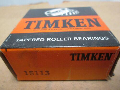 15113 TIMKEN TAPERED ROLLER BEARING