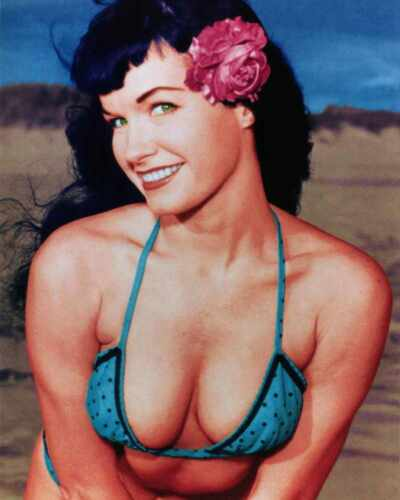Must have for collector Bettie Page 10,300 Picture CD