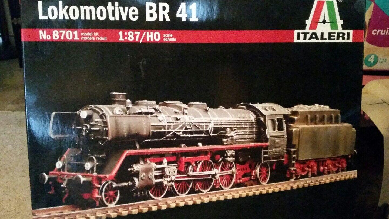 ++ Italeri Lokomotive BR41 1:87 8701