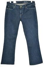 NEW Levis SKINNY BOOTCUT Dark Blue Indigo Demi Stretch Jeans Size 12 W31 L30