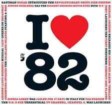 35th Cumpleaños Regalo-me encanta 1982 CD recopilatorio compañía de tarjeta de saludos Tarjeta-Cd