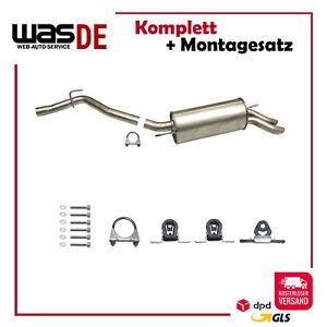 Mittelschalldämpferfür VW T4 AuspufftopfDämpfer auspuff
