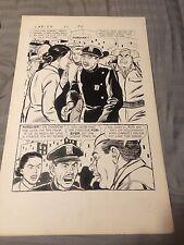 CAR 54 #5 pg #11 original art WHERE ARE YOU? TV  COMIC, 1963 KEYSTONE COPS! DELL