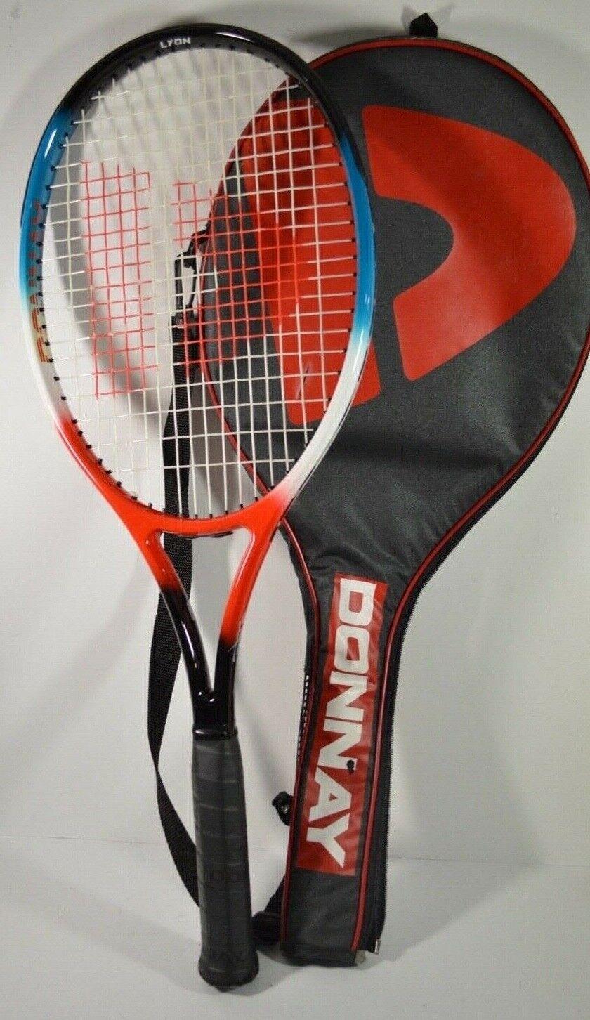 femmesY Lyon Raquette De Tennis Grip Taille L4 avec Housse