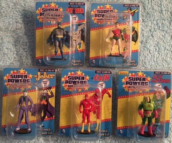 Gentle Giant DC Super Powers Micro Figures Set 5+ Walgreens Exclusive Lex Luthor