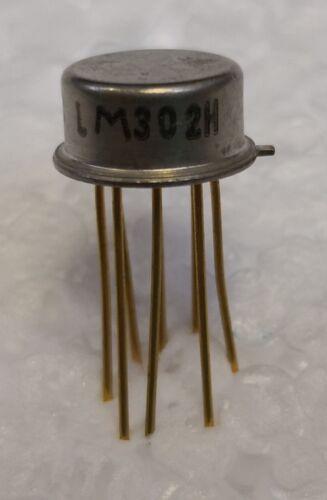 //-15V High Gain OpAmp  TO99  NOS  #BP 2 pcs LM302H  Voltage Followers