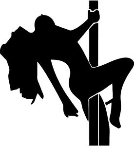 Image Is Loading Pole Dancer Girl Women Striper Bar Vinyl Decal