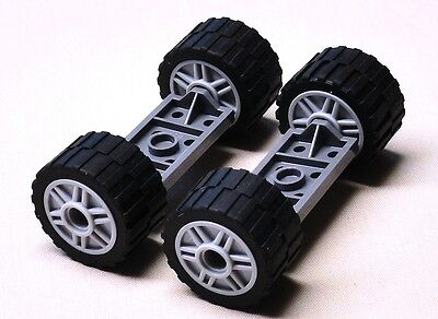 NEW Lego Wheels Tires Axle Sets CAR TRUCK VEHICLE PARTS city town 24 x 14