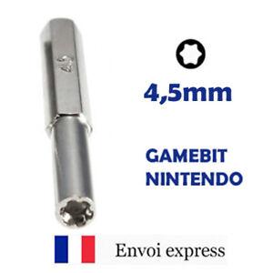 Embout de Tournevis GAMEBIT 4,5 mm - Nintendo NES SNES N64 Sega Game gear