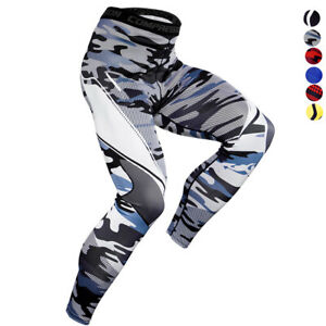 Men-039-s-Compression-Long-Legging-Gym-Athletic-Base-layer-Running-Sports-Fitness