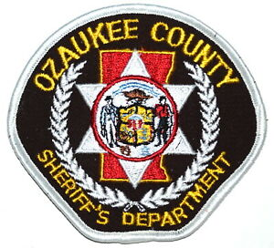 Ozaukee County Wisconsin Wi Sheriff Police Patch State Seal Vintage Old Mesh Ebay