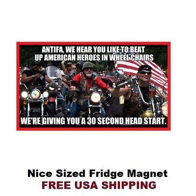 428 Motorcycle Warning Humor Refrigerator Toolbox Locker Magnet