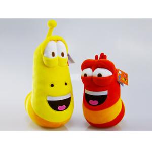 Korea-Hilarious-Insect-Larva-4-034-2PCS-Farting-Larva-Plush-Toy-Birthday-Xmas-Gift