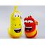 Korea-Hilarious-Insect-Larva-4-034-2PCS-Farting-Larva-Plush-Toy-Birthday-Xmas-Gift thumbnail 1