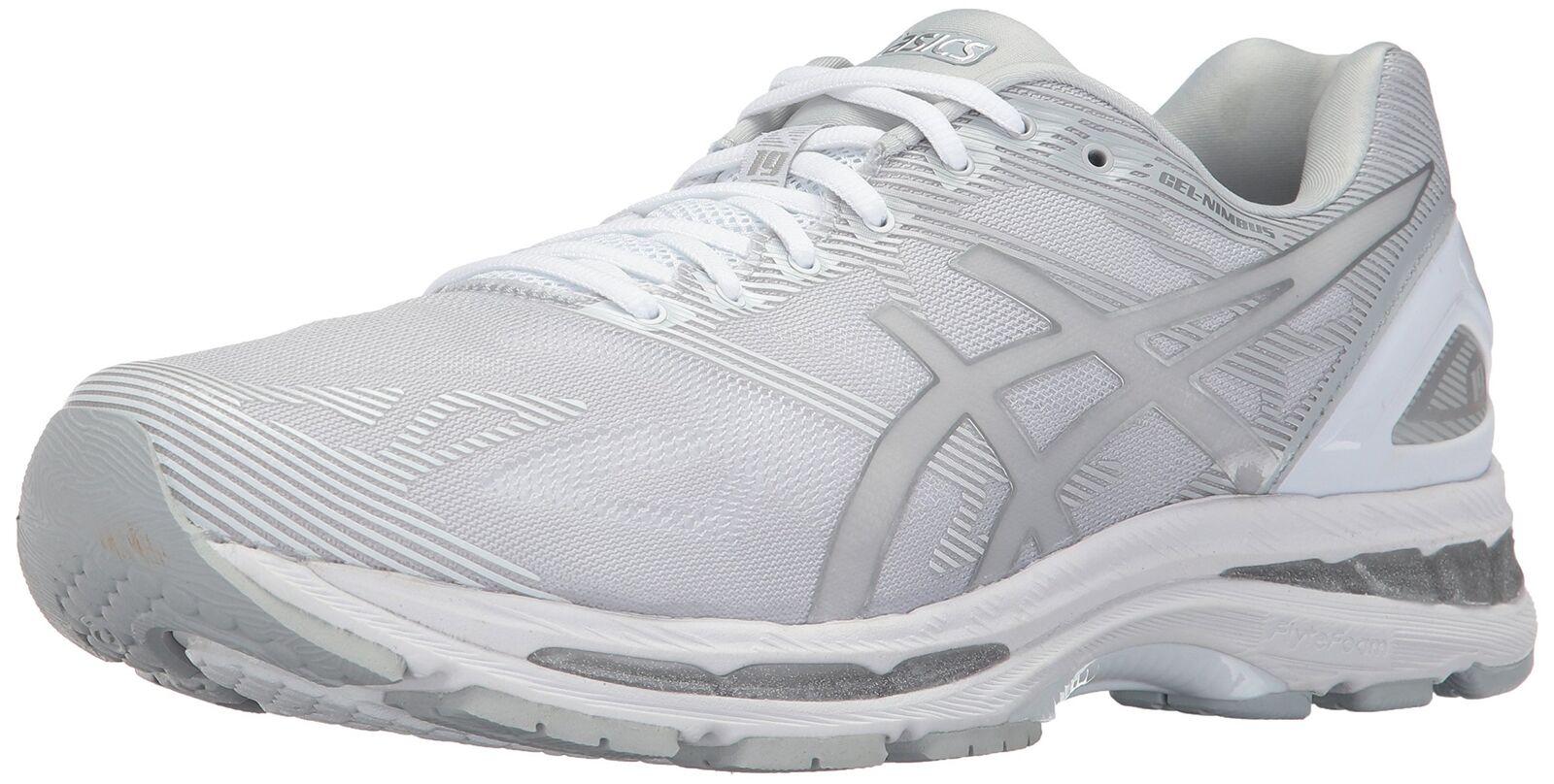 Asic uomini 'gel corsa, nimbus 19 scarpa da corsa, 'gel ghiacciaio grigio / argento / white 10,5 s (m.nuova 0b473c