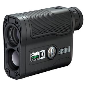 Bushnell Scout DX 1000 ARC 6x Magnification 1000 Yard Laser Rangefinder, Black