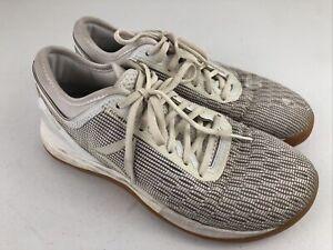 Reebok Women Shoe Crossfit Nano 8.0 Size 8 Athletic Trainer Sneaker White