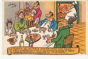 Carte Postale Humoristique Humour Illustrateur Chem Plaisir De La