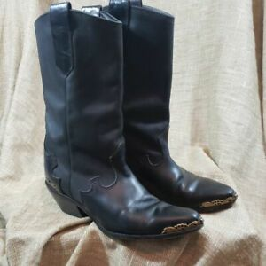 8-5N-Zodiac-VTG-Heart-Heel-Leather-Boots-Made-in-USA
