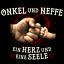 Onkel Neffe Herz Seele Herren T-Shirt Spruch Geburtstag Geschenk Idee Familie