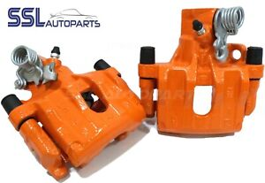 Focus-Mk2-ST2-ST3-ST225-Orange-Rear-Remanufactured-Brake-Calipers-amp-Carriers