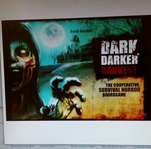 Dark darker darkest boardgame. Zombie apocalypse12 and up, All genders