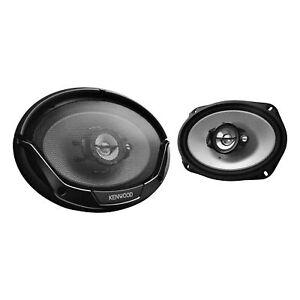 """Kenwood KFC-6965S 400 Watts 6"""" x 9"""" 3-Way Coaxial Car Audio Pair Speakers"""