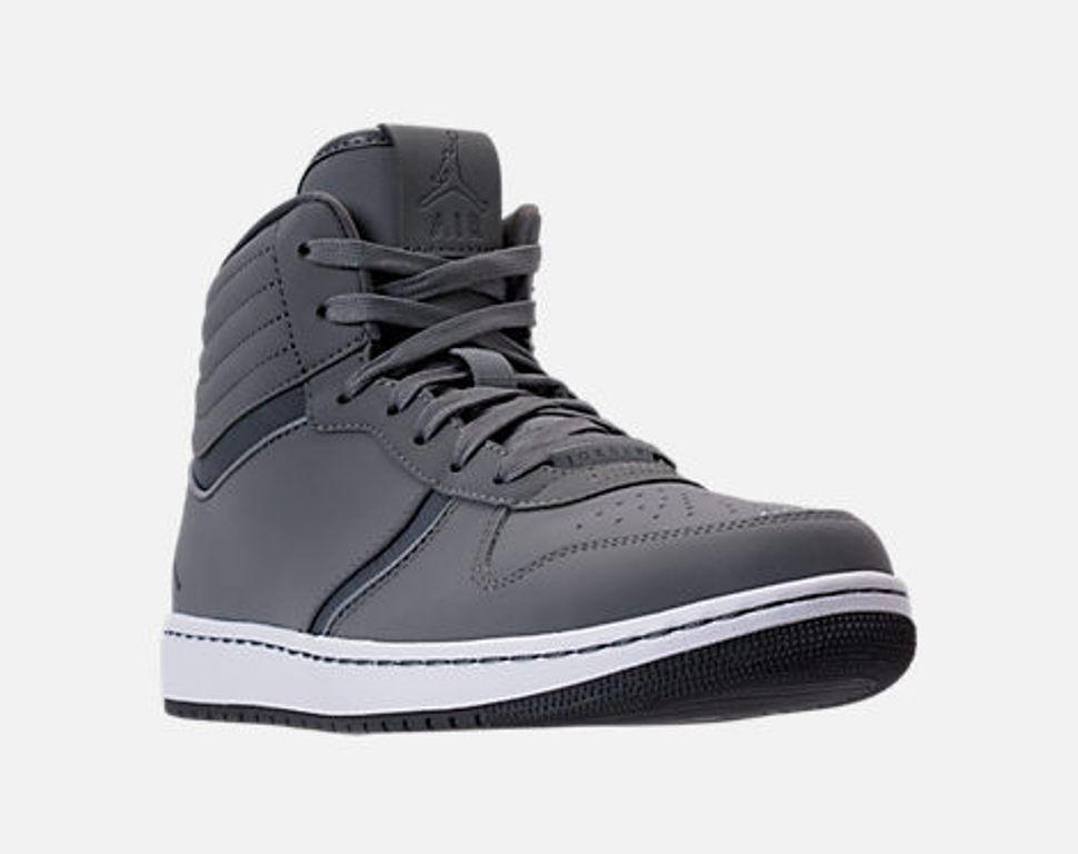 Nuova Uomo nike air jordan patrimonio scarpe - 12 / fede - cool grey