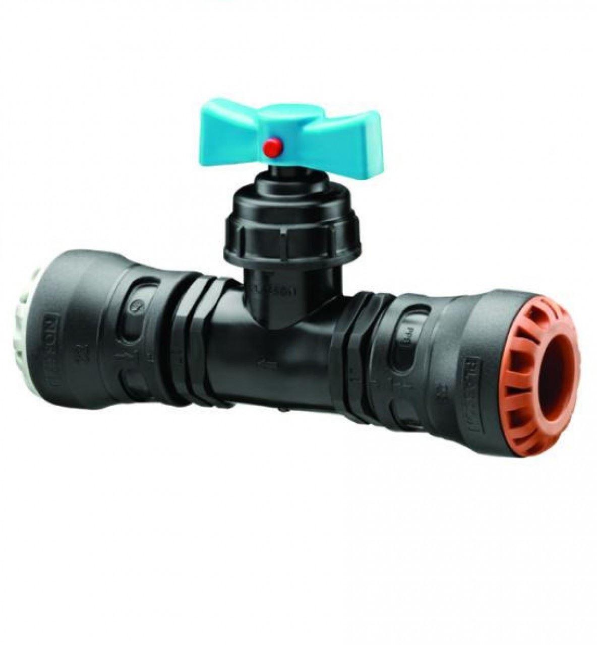Plass-one Plass-one Plass-one 25 mm x 22mm Push Fit mm MDPE AL RAME RUBINETTO ARRESTO - 0341c cbf981