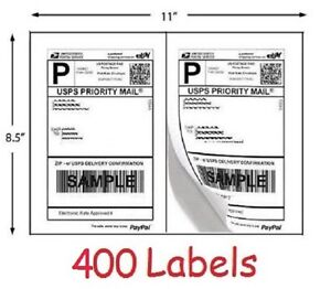 How To Send A Shipping Label To Someone 400 Shipping Labels For Printing Usps Ups Ebay Postage