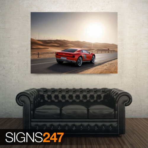 AA789 AUDI CONCEPT CAR CAR POSTER Photo Picture Poster Print Art A0 to A4