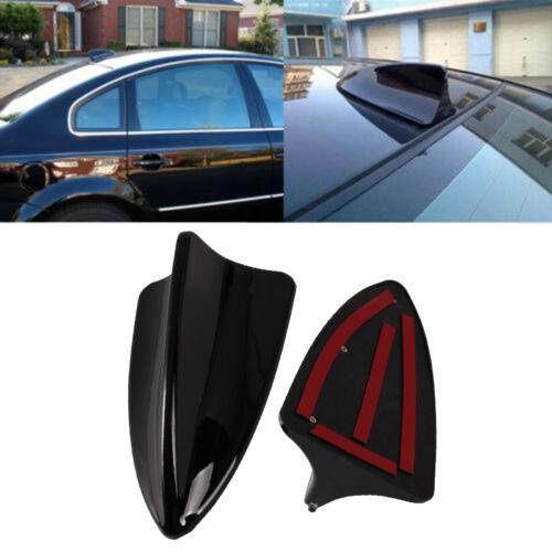 Black Shark Fin Design Car Trunk SUV Decorative Top Roof Antenna Aerial Fit BMW