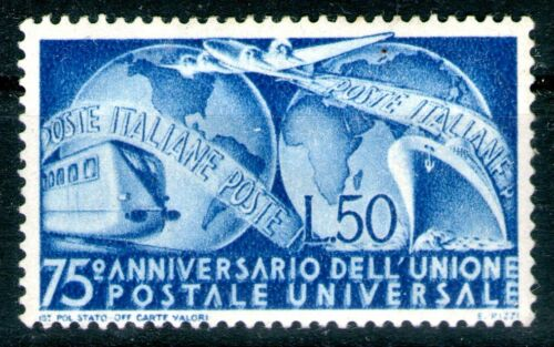 Italy 1949 50L Universal Postal Union Mint Lightly Hinged