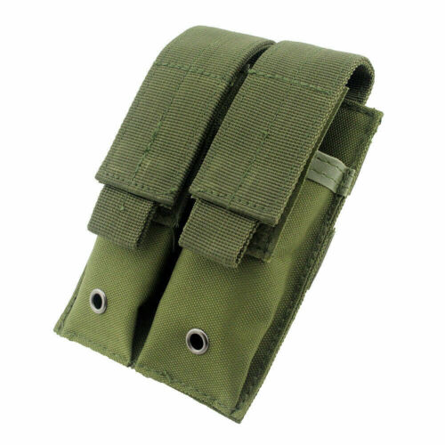 Tactical Molle Double Magazine Pouch Holster Pistol Mag Holder for Hunting ❤