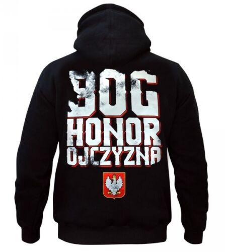 Sweatshirt Bluza Patriotic Eagle Poland Polska Bóg Honor Ojczyzna Walczaca Orzeł