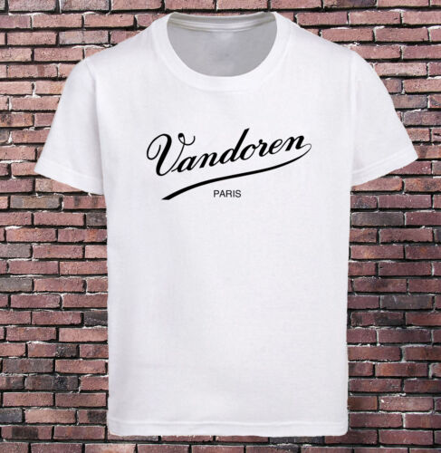 Vandoren Reeds Saxophone T-Shirt Men/'s White Tee Size S-3XL