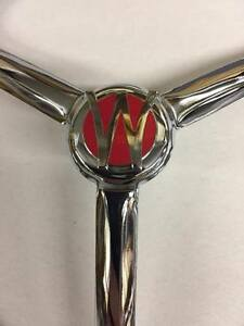 """7"""" WILLYS STYLE CHROME HEADLIGHT COVERS SET OF TWO"""