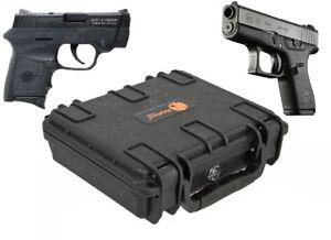 Elephant-Handgun-Hard-Case-waterproof-for-Glock-42-Smith-amp-Wesson-Bodyguard-380