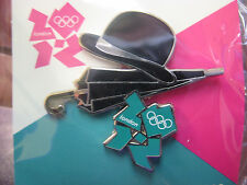 London 2012 Olympic Pin - Bowler/Umbrella