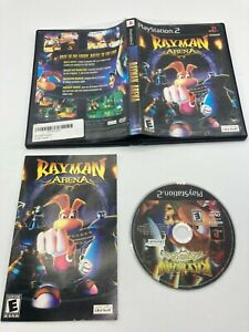Sony PlayStation 2 PS2 CIB COMPLETE TESTED Rayman Arena