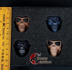 Hot-Toys-1-6-Scale-Walking-dead-Mask-Skeleton-Ghost-Skull-For-12-Action-Figure
